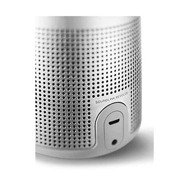 Bose SoundLink Revolve Enceinte Bluetooth - Argent 4