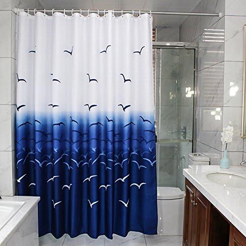 """Lighthouse Shower Curtain Fabric Nautical Shabby Chic New 72/""""x72/"""" Beach House"""