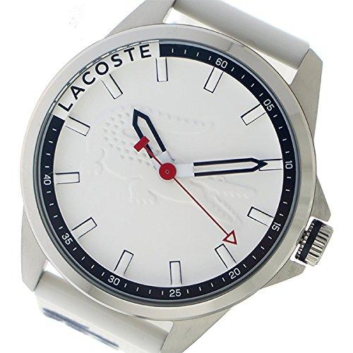 ラコステ LACOSTE クオーツ メンズ 腕時計 2010841 ホワイト mirai1-555695-ah [並行輸入品] [簡素パッケージ品] B079FMQTVX