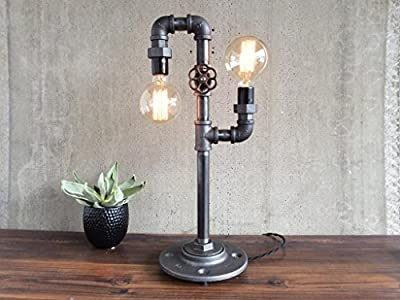 Industrial Style Desk Lamp - Modern Table Lamp
