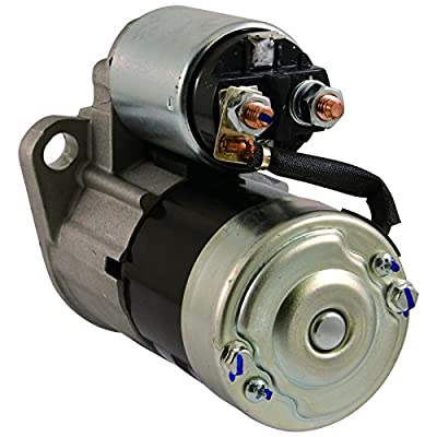 New Starter For 1998-2006 HYSTER YALE MITSUBISHI Forklift H-40XL H-50XL H-60XL S-25XL 2314322 2315322 FFSC18-400 FFSO18-400 M0T84381: Automotive