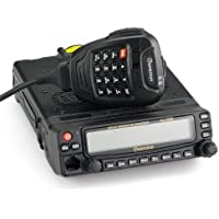 Wouxun KG-UV920P Mobile Transceiver 50W 136-174/400-480 MHz Duplex Cross-Band Repeat Dual Receive Dual-Track & Dual-Speaker, Twin Band, Dual Display + USB Programming Cable and Software CD for Wouxun KG-UV920P Car Mobile Radio