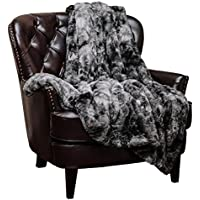 Chanasya Faux Fur Throw Blanket | Super Soft Fuzzy Light...