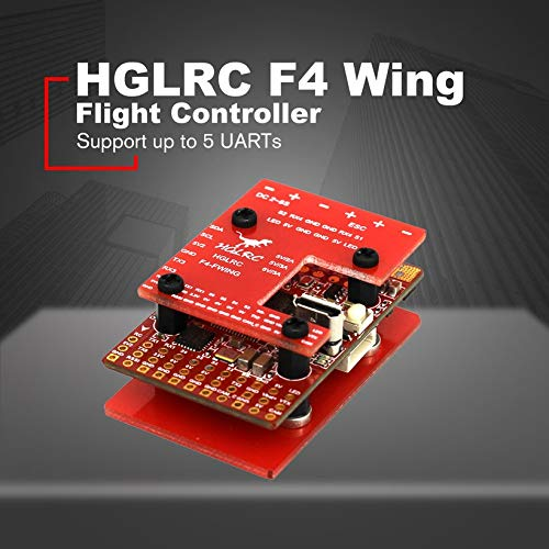 Wikiwand HGLRC F4 Wing Flight Controller FC for Fixed-Wing Racing Drone 2S -6S 8S Lipo by Wikiwand (Image #2)