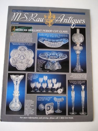 American Brilliant Period Cut Glass Catalog Volume 3 No. (Brilliant Period Cut Glass)