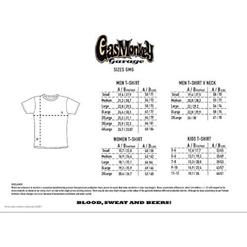 1f5983fc7462 Gas Monkey Garage T-Shirt Side Monkey 30%OFF - kylmapihlaja.com