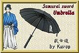 Kurop Samurai Sword Handle Umbrella Ninja Katana