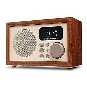 Blaupunkt HR5BR – Radio (Reloj, Digital, FM, 3 W, LCD, Beige)