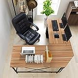 Soges 59'' x 59'' Large L-shaped Desk Computer Desk L Desk Office Desk Workstation Desk, Oak CS-ZJ02-OK