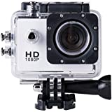 SJ4000 Full HD 1080P Camera 12MP 30M Waterproof Sports Action Camera DV CAR DVR Support SD To 32GB (White)