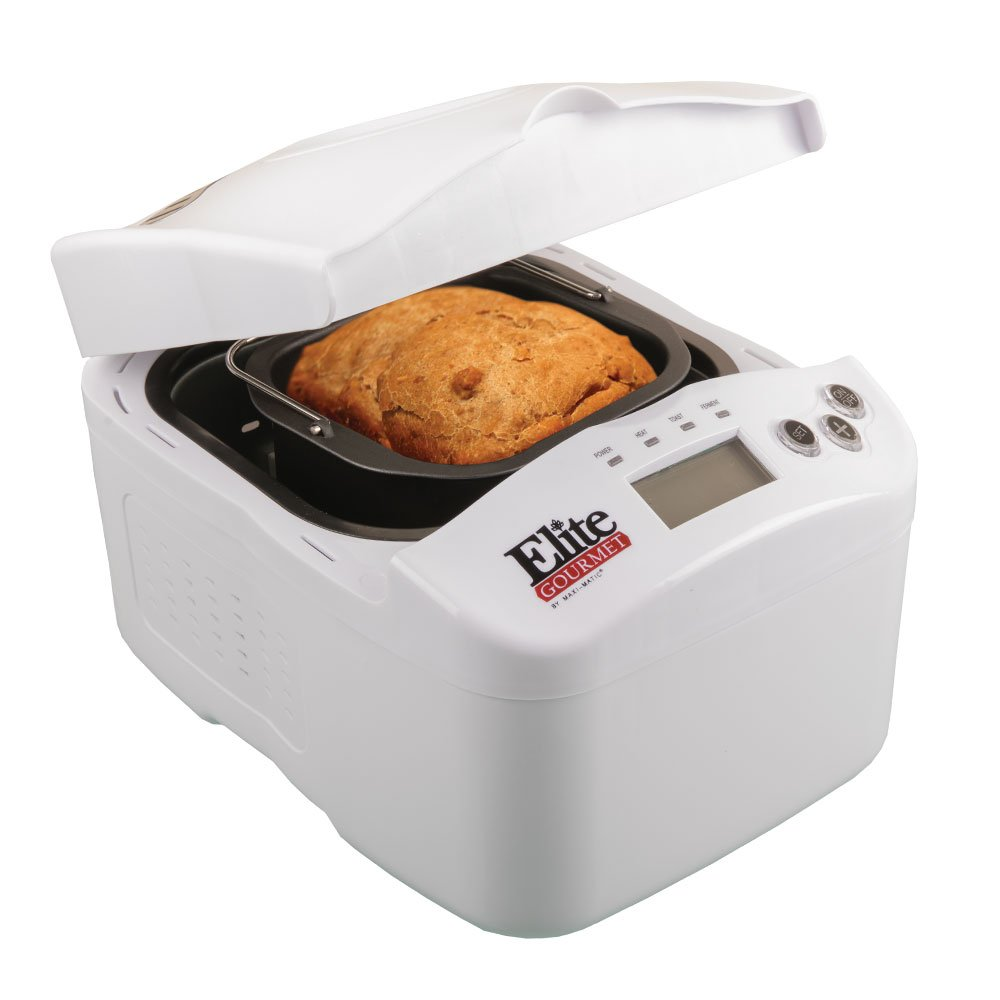 Elite Gourmet Digital Bread Maker EBM-1206