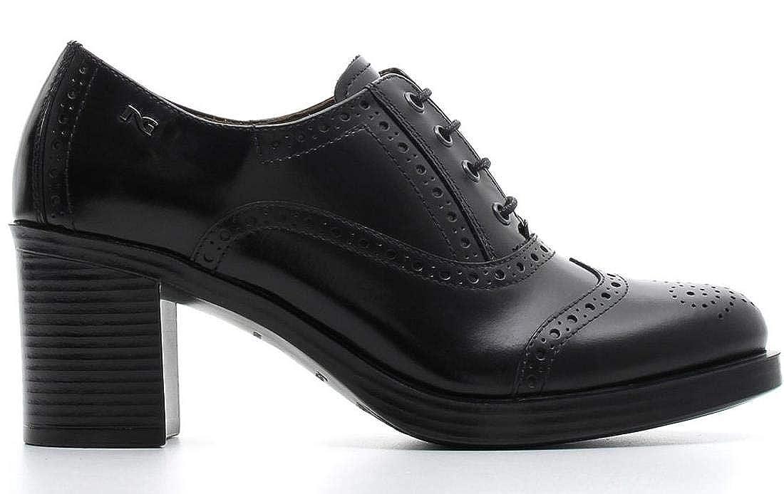 Schwarz Giardini schwarz Scarpa damen Stringata 806350