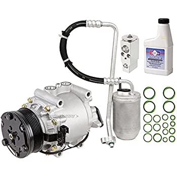 AC Compressor w/A/C Repair Kit For Ford Five Hundred 500 Mercury Montego 2005 2006 2007 - BuyAutoParts 60-80374RK New