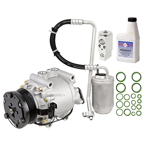 AC Compressor w/A/C Repair Kit For Ford Five Hundred 500 Mercury Montego 2005 2006 2007 - BuyAutoParts 60-80374RK - Parts Five Ford Hundred