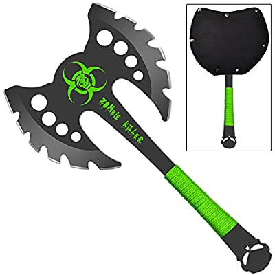 Zombie Killer Recon Double Headed Throwing Axe from SNAKE EYE TACTICAL
