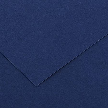 Canson Iris Vivaldi A4 240 GSM Smooth Colour Paper Royal Blue Pack of 50 Sheets