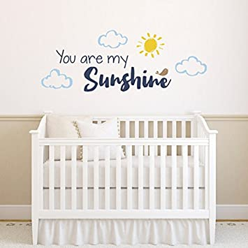 You Are My Sunshine Baby Wall Sticker