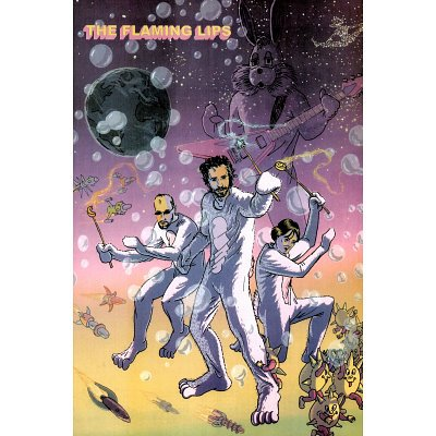 The Flaming Lips Bunnie Power Music Poster Print
