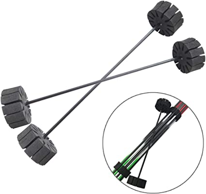 3pcs archery arrow holder foam round rack 12 separator quiver protection bow bg