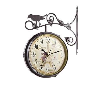 NAUY 12 Pulgadas de Oro Creativo del Reloj de Pared de Silencio a una Cara Relojes