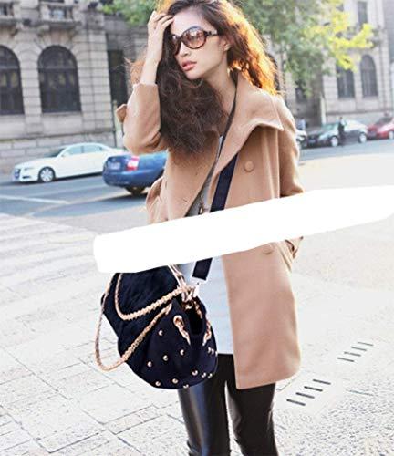 femme main fille en épaule à Cuir PU porté pour bandoulière Sac OHmais Sac Sac aw7fnqqgR