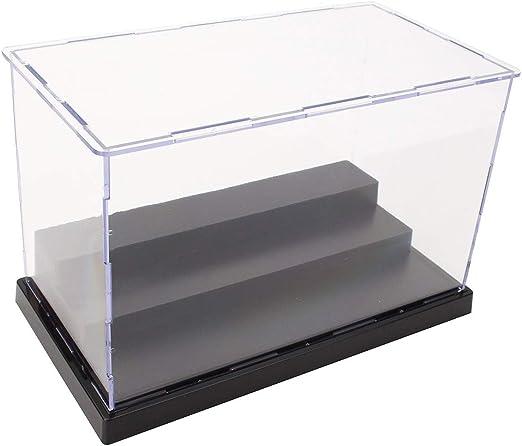 VIDOO 22Cm L Acrílico Pantalla Caja Perspex Caja Base De Plástico ...
