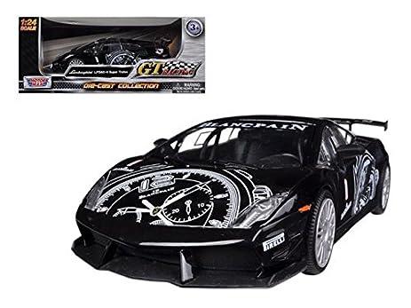 Motormax 73363bk Lamborghini Gallardo LP560 4 Black Super Trofeo GT Racing  1 24 Diecast