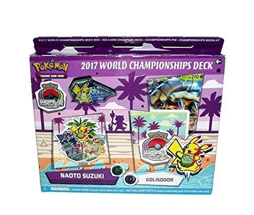 Pokemon Trading Card Game 2017 World Championship Deck Set (Naoto Suzuki's Golisodor (Feat. Golisopod))