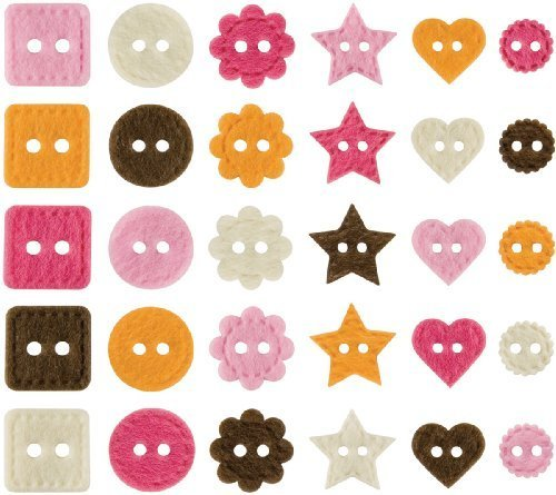 Making Memories Animal Crackers Felt Shapes 30/Package, (Animal Cracker Shapes)