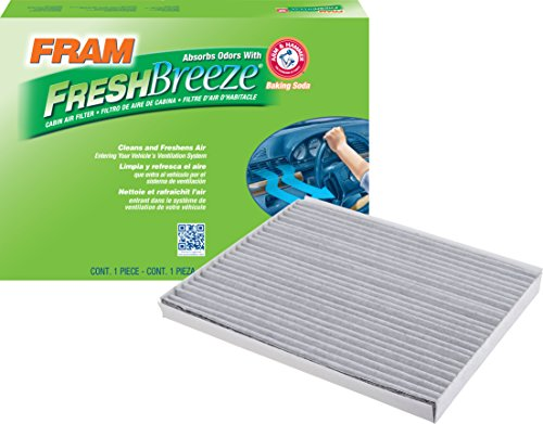 FRAM CF10728 Fresh Breeze Cabin Air Filter with Arm & Hammer