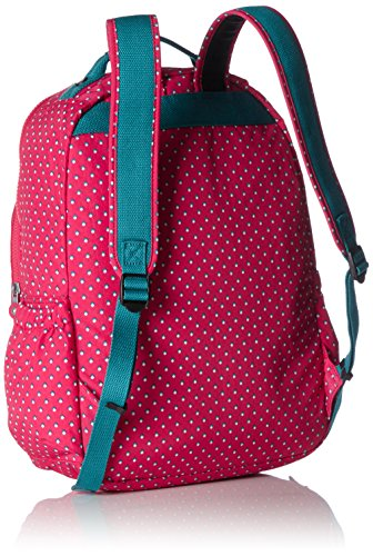Kipling Seoul Up Large Backpack With Laptop Protection Pink Summer Pop by Kipling (Image #1)