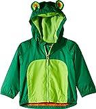 Columbia Kids Baby Boy's Kitteribbit¿ Fleece Lined Rain Jacket (Infant/Toddler) Ivy Green/Cyber Green/Tangy Orange 6-12 Months