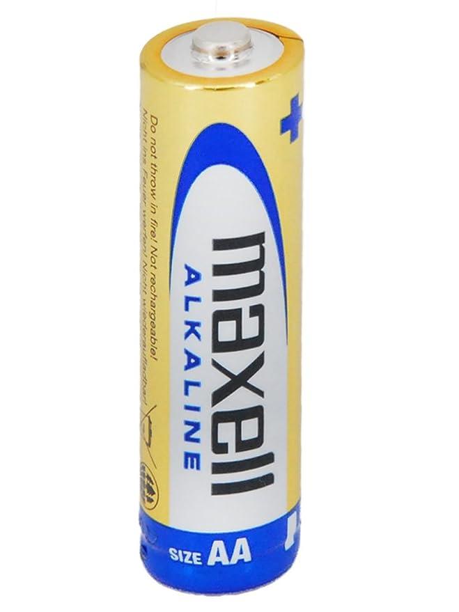 Maxell LR6 - Pack de 40 Pilas alcalinas AA, Color Dorado: Amazon.es: Electrónica