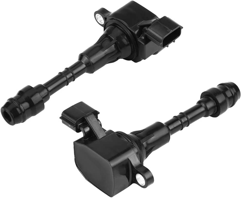 KIMISS Car Ignition Coil UF349 12481 UF-349 C1406 5C1403 22433-8J115 22448-8J111 22448-8J11C 22448-8J225 Coil-on-Plug Spark Coil for Nissan Altima 02-06 Frontier 05-08 Maxima 01-08 Murano 03-07