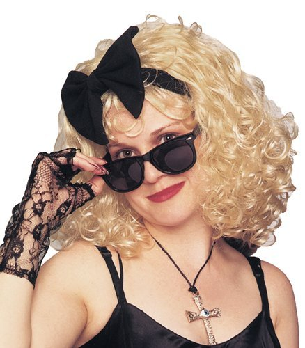 Madonna Style 80s Wig Costume Accessory