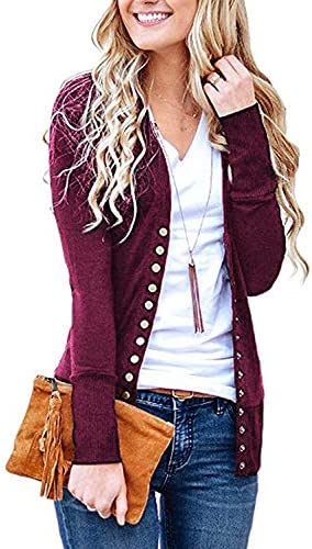 Womens Button Knitwears Sleeve Cardigans product image