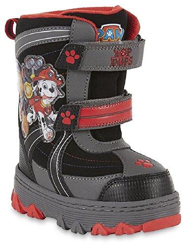 Nickelodeon Boy's Paw Patrol Winter Snow Boots