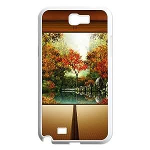 Autumn In Japan Samsung Galaxy N2 7100 Cell Phone Case White DIY present pjz003_6472400