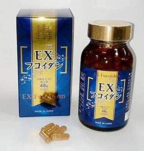 EX FUCOIDAN 150 Capsules with 48g Mozuku Extract Made in Japan by Kanehide Bio
