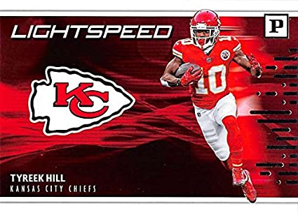 newest 02c6e 2606d Amazon.com: 2018 Panini Lightspeed #1 Tyreek Hill Kansas ...