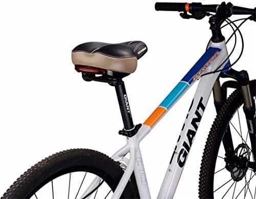 Multicy Cojín de Piel para Bicicleta de Montaña o Trasera, Hueco, Suave, para Sillín de Bicicleta, Hombre Mujer Infantil, FU5700L: Amazon.es: Deportes y aire libre