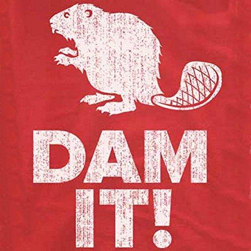 Dam It Beaver T-Shirt-Funny shirt-Damn (Beaver Funny T-shirt)