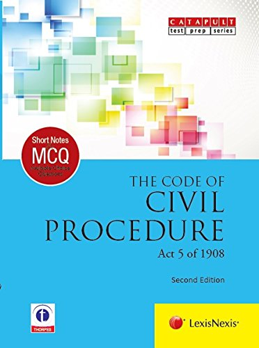 Lexisnexis Short Notes and Multiple Choice Questions: The Code of Civil Procedure (Act 5 of 1908)