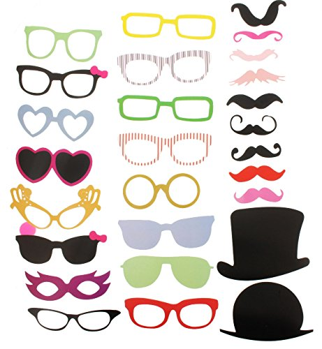 Photo Booth Props Wedding Party Reunions Birthdays Dress-up Accessories & Party Favors, Costumes DIY (Board Game Costumes Diy)