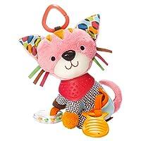 Skip Hop Bandana Buddies Soft Activity Toy, Kitty