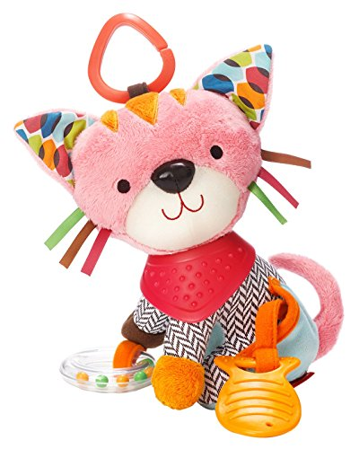 Skip Hop Bandana Buddies Soft Activity Toy, Kitty
