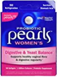 Enzymatic Therapy Pearls Yeast Balancing Probiotics Caps, 30 ct