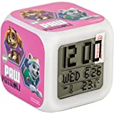 Paw Patrol Children's Digital Alarm Clock with 7