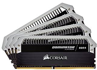 CORSAIR Dominator Platinum 32GB (4x8GB) DDR4 2666MHz C15 Desktop Memory (B00NP68UJE) | Amazon price tracker / tracking, Amazon price history charts, Amazon price watches, Amazon price drop alerts
