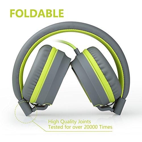 Ailihen I35 Stereo Lightweight Foldable Headpho...